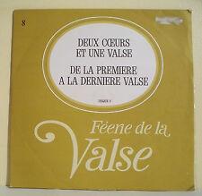 """33T DEUX COEURS 1 VALSE LP 12"""" DE LA 1er A LA DERNIERE -FEERIE VALSE Disque N° 8"""