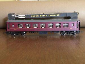 Wrenn Railways W6010 LMS 2nd Class Coach 3459 - OO VGC (Poor Box)