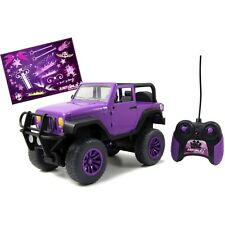 NEW JADA 1:16 R/C RC RADIO CONTROL CAR GIRLMAZING JEEP WRANGLER 96962 PURPLE