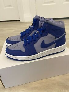 Nike Air Jordan 1 Mid Georgetown Iron Purple Blue  DH7821-500 Size 7.5W / 6M