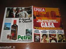 RIVISTA EPOCA 1979 N.1486=TULLIO REGGE=PALMIRO TOGLIATTI=SYLVIA PLATH=
