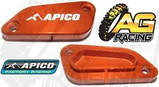 Apico Orange Front Brake Master Cylinder Cover For KTM SX 65 2004-2011 04-11 New