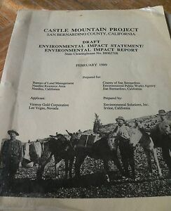 CASTLE MINE EIR Great resource for rockhounds, photographers & naturalists