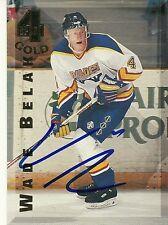 Wade Belak Hand Signed 1994 Classic Games 4 Sport Hockey Card #126