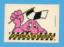 JUVE NELLA LEGGENDA-Ed.MASTER 91-Figurina/ADESIVO n.50- DOMENICA DA BRIVIDO!-NEW