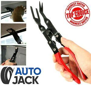 Trim Clip Removal Pliers Car Van Door Panel Fascia Dash Upholstery Remover Tool