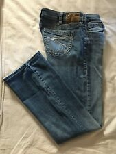 (*-*) SILVER JEANS * Womens AIKO BOOTCUT Blue Jeans / Denim Size 30 x 31 1/2