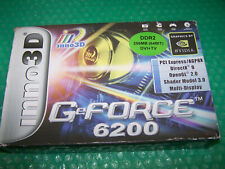 Boxed Inno3D Nvidia GeForce 6200 256MB AGP Graphic Card, Windows 7/8
