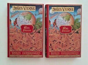 Jules Verne - Michel Strogoff - Editions de l'Ormeraie -   2 volumes