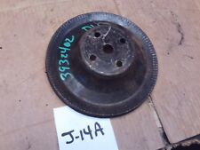 1972 WATER PUMP PULLY PULLEY CHEVELLE NOVA CAMARO 302 283 3932402  GROOVE SHEAVE