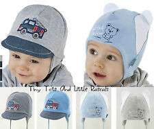 Baby Boy Infant Toddler Cotton Elastic Spring Autumn Hat Cap newborn - 4 years