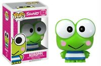RARE 2014 Keroppi Sanrio 02 Funko Pop Vinyl New in Box + Protector
