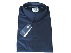 New Mens Guess Black Long Sleeved Shirt Size L £29.99 or best offer RRP £60