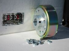 "Mini Bike Kart 4"" BRAKE DRUM 1"" LIVE AXLE Cart ATV  BAND BRAKE MANCO 1078 4"