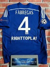 Fabregas Chelsea Champions League football shirt XL homme RARE CFC Rétro
