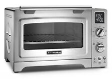 """KitchenAid KCO275SS Convection 1800W Digital Countertop Oven 12"""" Stainless Steel"""