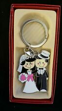 12 Wedding Favors Key Chain Bridal Shower, Keychains, Llaveros Recuerdos De Boda