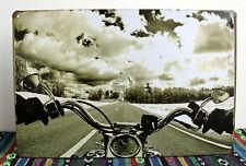 Feel Motorcycle Metal Tin Signs Home Pub Bar Wall Decor Garage Poster NO716
