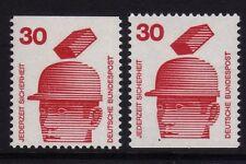 W Germania 1974 prevenzione 30pF COPPIA SG 1600b MNH