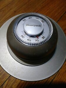 Vintage HONEYWELL Mercury THERMOSTAT Most Accurate Thermostat  Heating T87F 1859