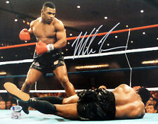 MIKE TYSON AUTHENTIC AUTOGRAPHED SIGNED 11X14 PHOTO BECKETT 180907