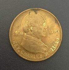 St. Charles Borromeo Church Golden Jubilee Reverend Charles P Raffo Coin Medal