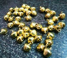 25 Pcs Indian Metal Ghungroo Bells Loose Beads Bellydance Music Classes Craft