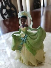 Disney Parks Tiana Christmas Ornament 3-D w/ Glitter Dress Princess and Frog