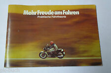 """Broschüre """" Mehr Freude am Fahren """" BMW Motorrad, Ausrüstung, Sicherheit etc."""