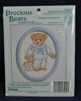 Janlynn Precious Bears Cross Stitch Kit You Better Be Good Sailor Bear Nautical