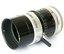 Paillard Bolex Kern Macro Switar 12.5 f/1.3 H8 RX C-mount Lens For H8-REX Camera