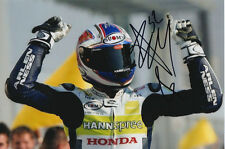 JAMES TOSELAND HAND SIGNED HANNSPREE HONDA 6X4 PHOTO 1.