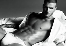 DAVID BECKHAM BECKS FOOTBALL FOOTBALLER Photo Poster A4 260GSM