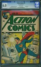 Action Comics #36 CGC 6.0 DC 1941 Superman! Justice League! JLA! E12 1 127 bo cm