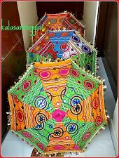 Wholesale Lot of 30 PC Traditional Indian Designer Handmade Sun Umbrella Parasol