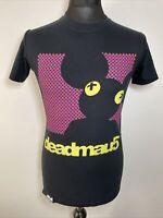 Deadmau5 Dot Matrix Black Men's T Shirt Tee Small Mouse DJ
