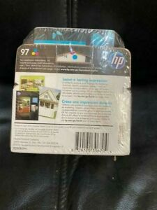 New Original HP 97 OEM New Sealed Inkjet cartridge Tri-Color dated APRIL 2020