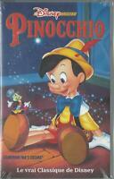 Cassette VHS Du Film Pinocchio De Norman Ferguson k7 VHS Neuf
