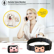 New Dog Cat Collar ID Locator GPS GSM Tracking Anti-Loss Tracker Pet Security js