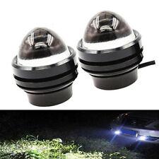 2x Xenón 5W Cree Alta Potencia Lámpara Proyector LED DRL Ojo de Toro Diurna Luz de Niebla