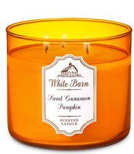 White Barn Sweet Cinnamon Pumpkin Three Wick 14.5 Ounces Scented Candle