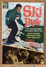 VINTAGE DELL MOVIE COMICS SKI PARTY 1965 1ST SERIES FRANKIE AVALON HIGH GRADE!