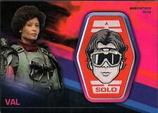 2018 Topps Star Wars Solo Story Patch Relic Pink #MP-VC Val 83/99