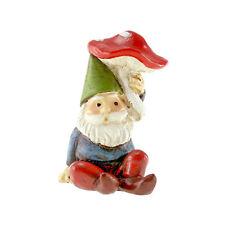 Miniature Fairy Garden Mini Gnome Mushroom Resin Tiny Elf Magical Troll Dwarf