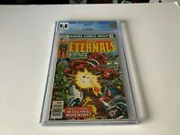 ETERNALS 9 CGC 9.8 WHITE PAGES THE KILLING MACHINE MARVEL COMICS 1977