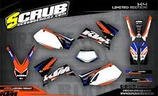 SCRUB KTM LC4 625 640 660 LC4 1999 - 2005 '99 - '05 Grafik Dekor-Set