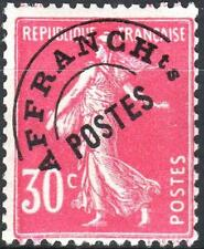 "FRANCE STAMP TIMBRE PREOBLITERE N° 59 "" SEMEUSE 30c ROSE "" NEUF xx TTB K075"