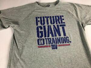 New York Giants Shirt Youth XL Loose NFL Combine Future In Training Heat Gear UA