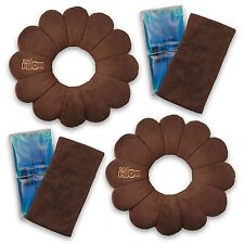 Total Pillow Microbead Portable Pillow - Use at Home or On The Go - Set of 2
