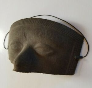 Vintage Masquerade Half Mask Form Cloth & Paper Costume Making Sewing Antique